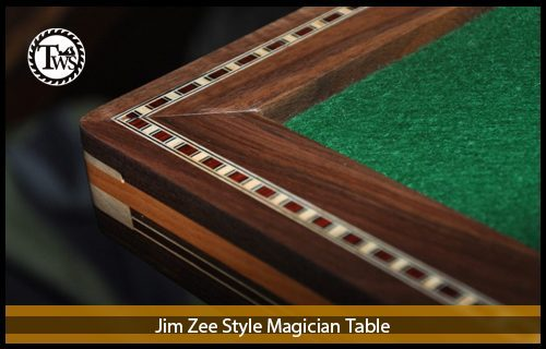 Jim Zee Style Magician's Table
